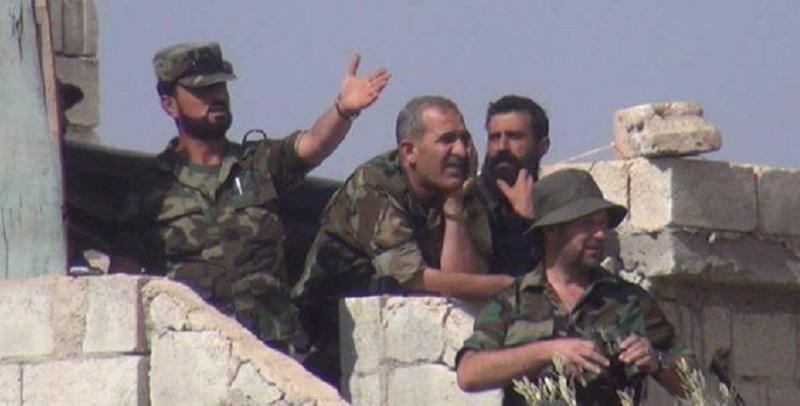 Suheil al-Hassan, Kommandant der Tiger-Kräfte der syrischen Armee