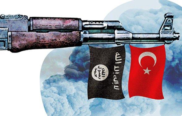 NATO-Miglied Türkei liefert Lebensmittel und Waffen an ISIS in Syrien