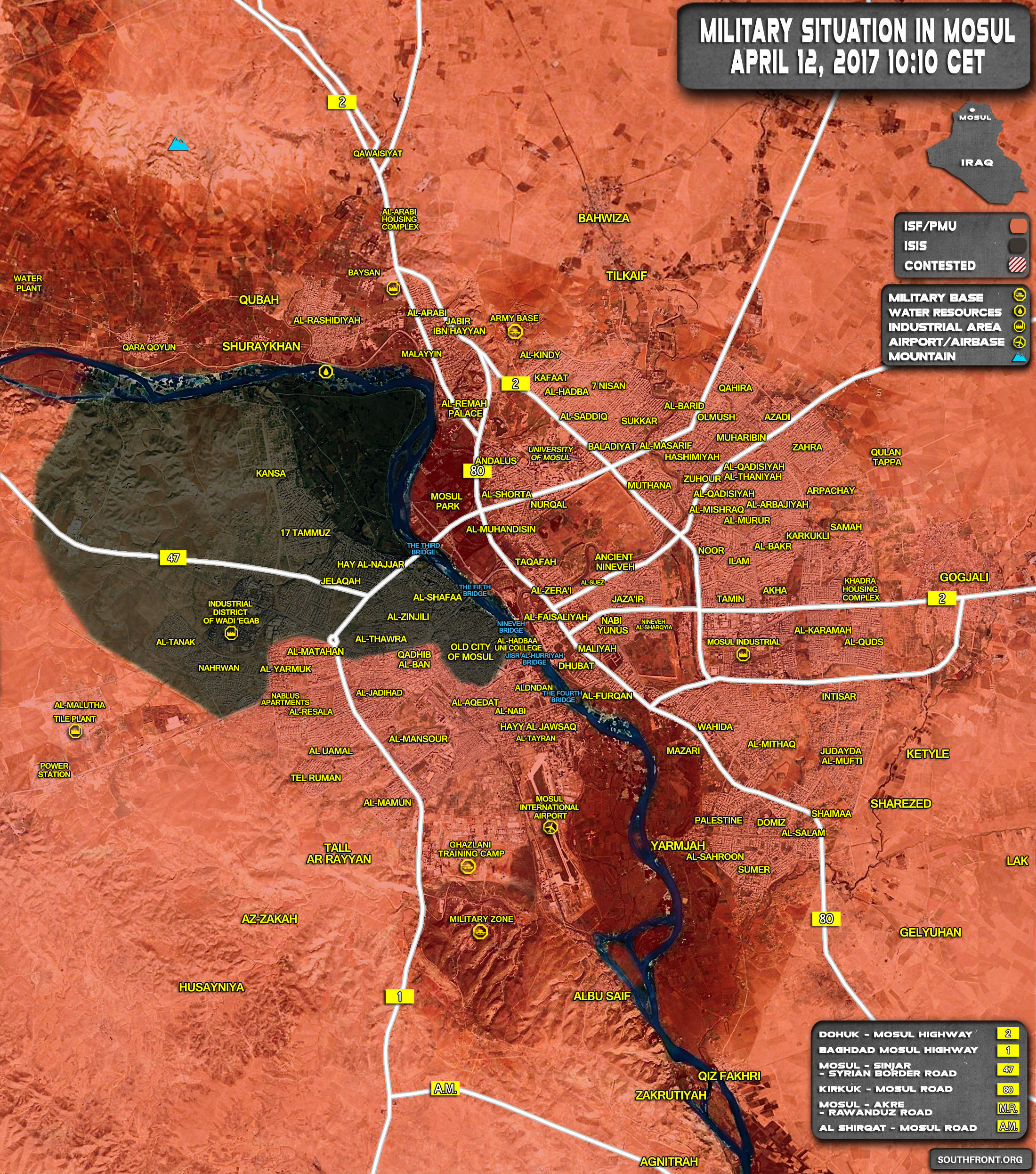 12april_Mosul-city_Iraq_war_map