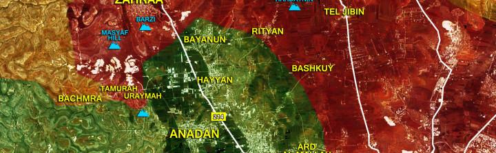 12april_Northwestern-Aleppo_Syria_War_Map