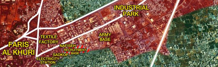 14april_Eastern-Damascus_Syria_War_Map