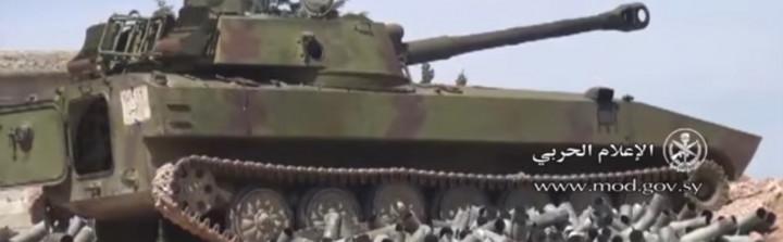 Einnahme von Souran und Tell Bizam durch die syrische Armee