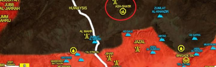 Syrische Streitkräfte nehmen al-Shaer Gasfeld vom Islamischen Staat ein