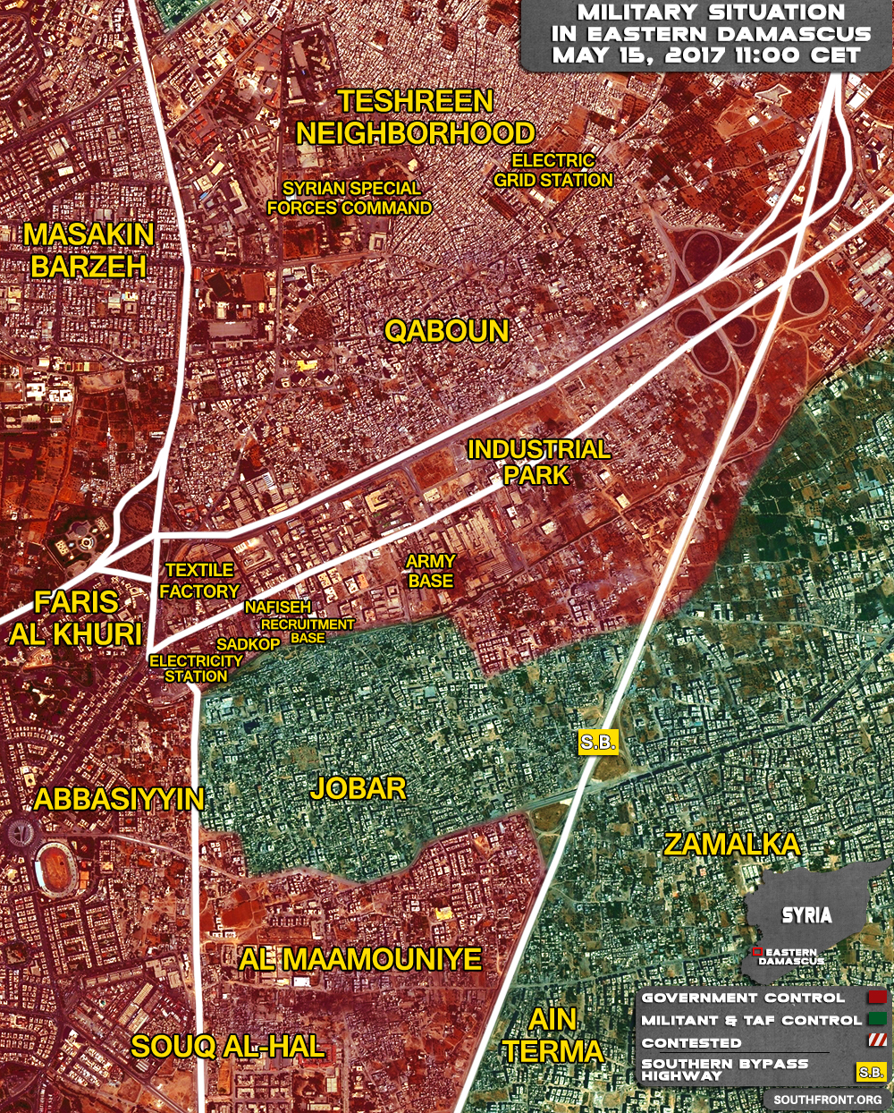 15april_Eastern-Damascus_Syria_War_Map