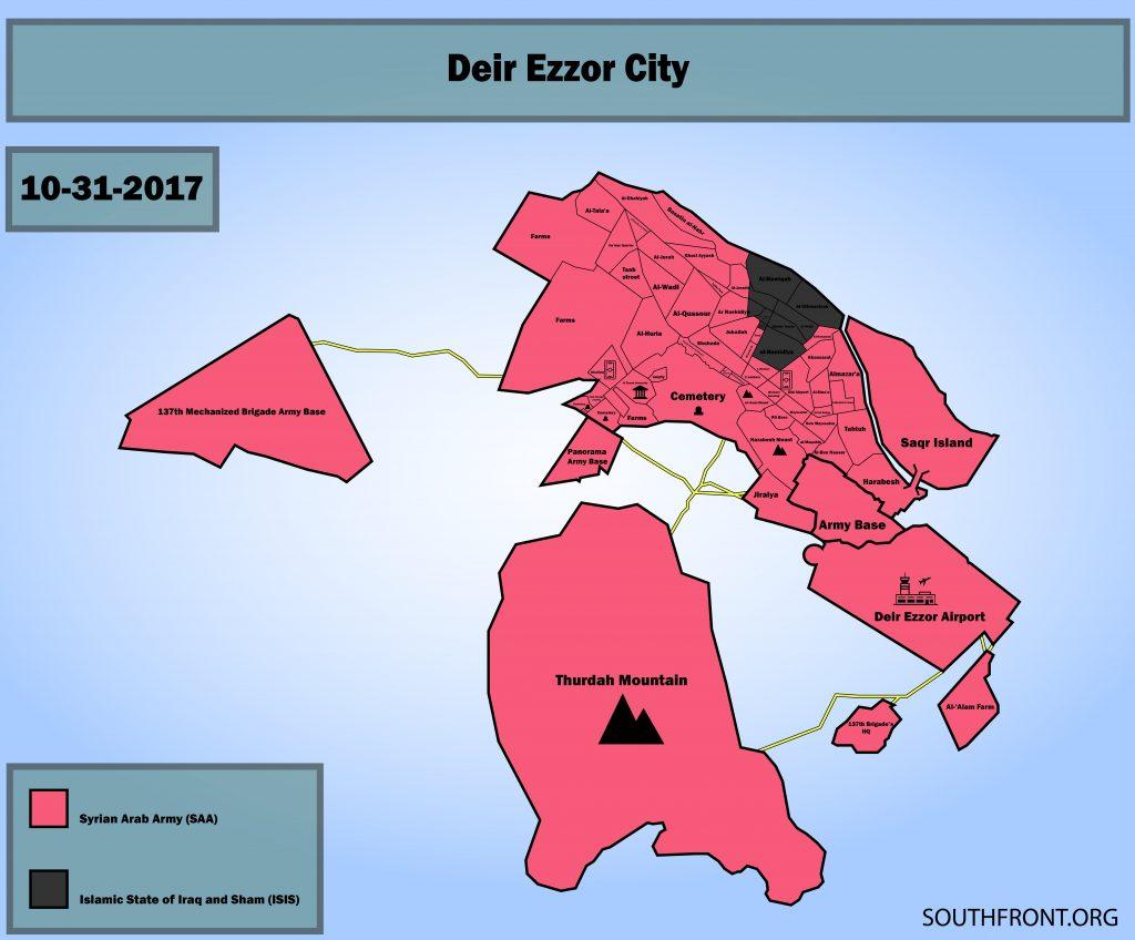 Deir ez-Zor am 31. Oktober 2017