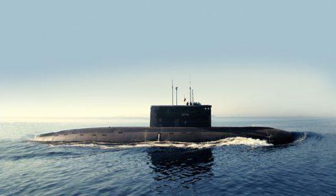Ein U-Boot der Warschawjanka-Klasse