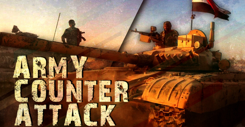 army-counter-attack