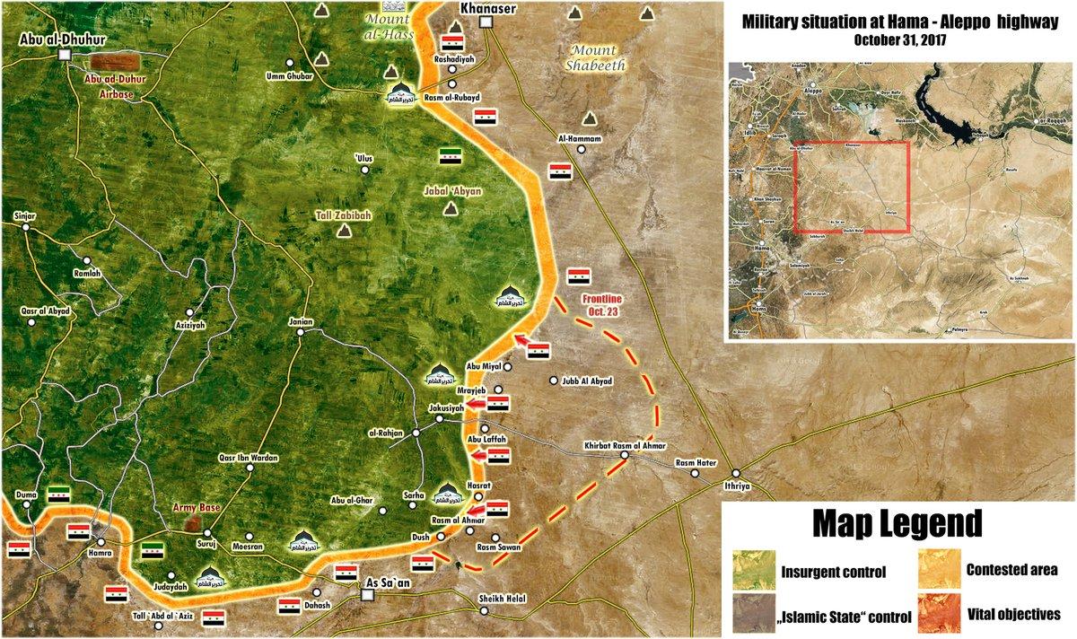 Karte vom Nordosten Hamas