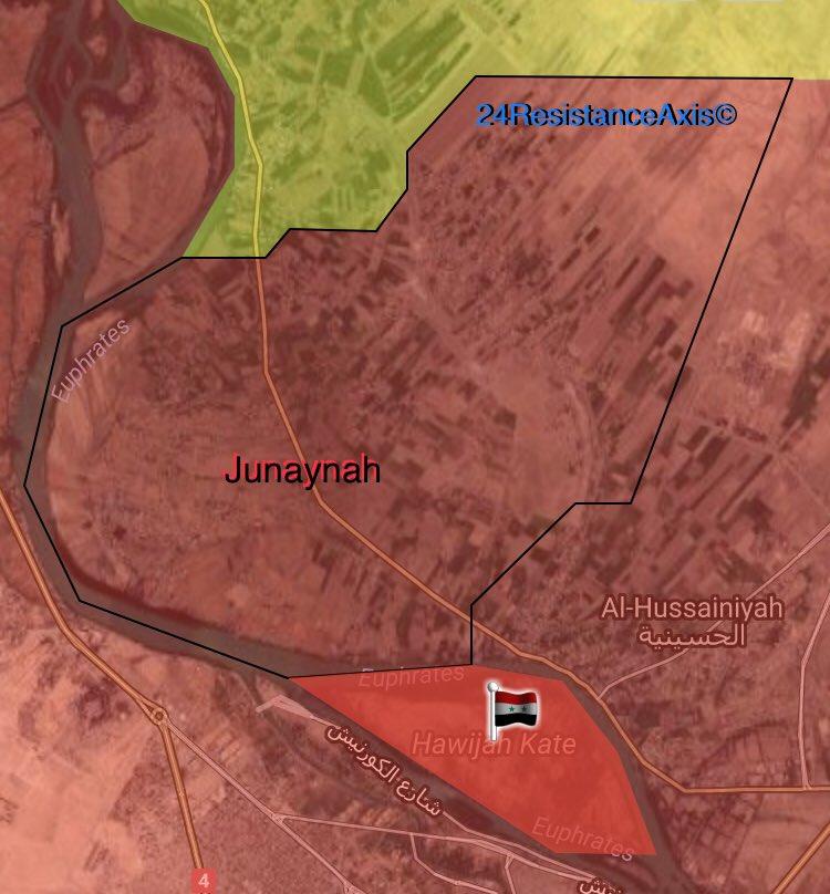 Hawijah Kate nördlich der Stadt Deir ez-Zor