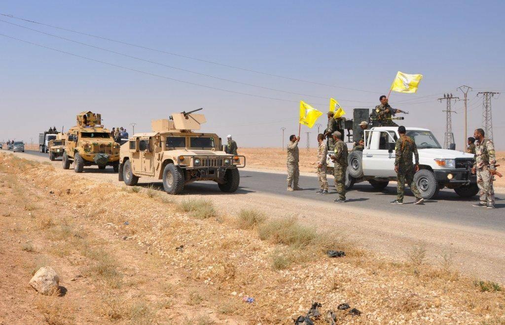 Kurdische Kräfte