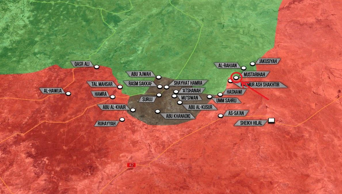 Nordosten des Gouvernements Hama