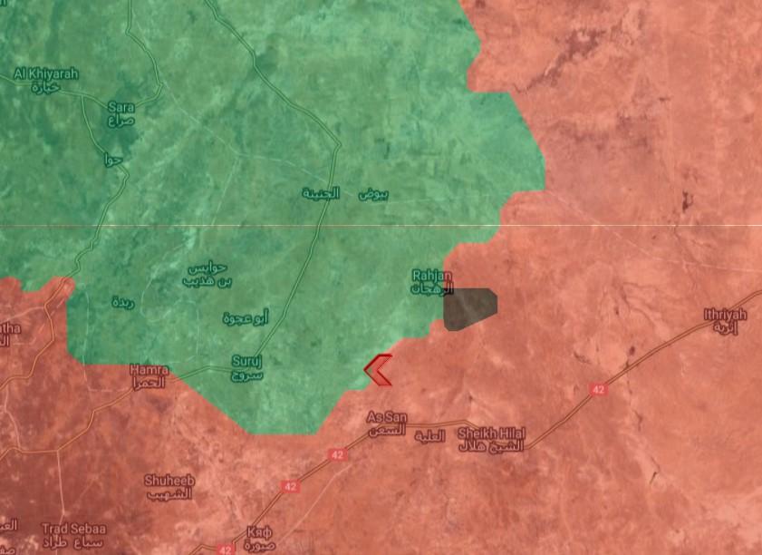 Vorstoß der syrischen Armee im Nordosten des Gouvernements Hama